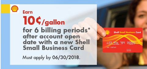 Apply today for the shell small business credit card earn 10gallon for 6 billing periods after account open date with a the shell small business card colourmoves